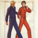 Butterick Sewing Pattern 5199 Misses Size 12-14 Zipper Front Knit Workout Jacket Top Pants