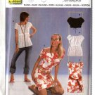 Burda Sewing Pattern 8517 Size Misses 6-18 Easy Pullover Peasant Tops Mini-Dress