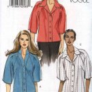 Vogue Sewing Pattern 8535 Misses Sizes 16-24 Easy Button Front Raglan Sleeve Shirts