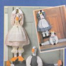 Butterick Sewing Pattern 4779 Draft Stop Decorations Cow Duck Clothes