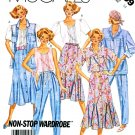 McCall's Sewing Pattern 3199 Misses' Size 12 Wardrobe Shirt Jacket Vest Blouse Skirt Pants