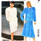 McCall's Sewing Pattern 3332 Misses' Size 20 Two Piece Dress Top Straight Flared Skirts