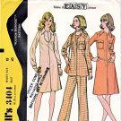 McCall's Sewing Pattern 3404 M3404 Misses' Size 18 Easy Zipper Front Dress Tunic Pants Pantsuit
