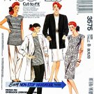McCalls Sewing Pattern 3575 Misses Size 8-12 Easy Knit Wardrobe Jacket Dress Tunic Pants
