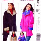 McCall's Sewing Pattern 5219 Misses Size 4-14 Easy Reversible Button Front Jackets