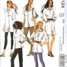 McCall's Sewing Pattern 6124 Misses Size 8-16 Button Front Shirt Shirtwaist Dress
