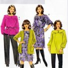 Butterick Sewing Pattern 5692 Women's Plus Size 26W-32W Wardrobe Dress Top Pants Cardigan
