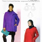 Butterick Sewing Pattern 5828 Womens Plus Size 18W-44W Unlined Long Sleeve Jacket