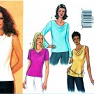 Butterick Sewing Pattern 3131 Misses Size 6-8-10 Easy Pullover Top Sleeve Variations