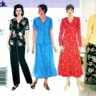 Butterick Sewing Pattern 4875 Womens Plus Size 14W-18W Easy Dress Top Skirt Pants