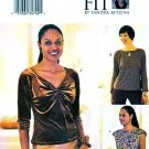 Butterick Sewing Pattern 3438 Misses Size 16-22 Easy Pullover Knit Tops Today's Fit