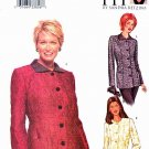 Butterick Sewing Pattern 3239 Women's Plus Size 24W-32W Front Button Lined Princess Seam Jacket