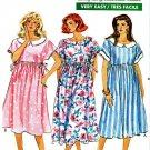 Butterick Sewing Pattern 6476 Maternity Misses Size 8-12 Easy  Raised Waist Empire Dress