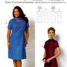 Butterick Sewing Pattern 5827 Womens Plus Size 18W-44W Easy Princess Seam Dress