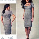 Vogue Sewing Pattern 1222 Misses Sizes 14-20 Easy Anne Klein Fitted Short Sleeve Dress