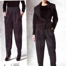 Vogue Sewing Pattern 1201 Misses Sizes 14-20 Donna Karan Shawl Collar Jacket Pants