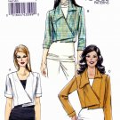 Vogue Sewing Pattern 8673 Misses Sizes 14-22 Easy Asymmetrical Front Jacket