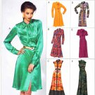 Vogue Sewing Pattern 8829 Misses Sizes 16-24 Easy Classic Shirtwaist Dress With Options