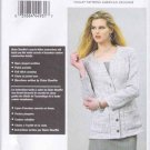 Vogue Sewing Pattern 8893 V8893 Misses Sizes 8-16 Claire Shaeffers Long Sleeve Jacket
