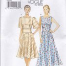 Vogue Sewing Pattern 8895 Misses Sizes 8-16 Easy Summer Flared Skirt Dress