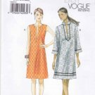 Vogue Sewing Pattern 8897 Misses Sizes 16-26 Easy Pullover Dress Sleeve Options
