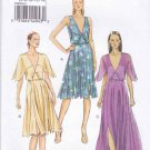 Vogue Sewing Pattern 8899 Misses Sizes 14-22 Easy Lined Pullover Dress Bodice Details Capelet