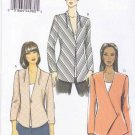 Vogue Sewing Pattern 8910 Misses Sizes 6-14 Easy Lined Bias Button Front Jacket