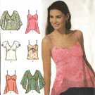 Simplicity Sewing Pattern 5003 Misses Size 6-12 Easy Summer Pullover Tops