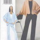 Vogue Sewing Pattern 8624 Misses Size 16-24 Easy Cocoon Jacket Fitted Long Pants