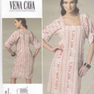 Vogue Sewing Pattern 1228 V1228 Misses Size 8-14 Easy Vena Cava Pullover Dress Kimono Sleeves