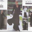 Vogue Sewing Pattern 1290 V1290 Misses Size 6-10 Easy Wardrobe Jacket Dress Top Pants
