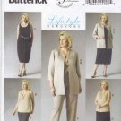 Butterick Sewing Pattern 5899 Women's Plus Size 26W-32W Wardrobe Jacket Top Dress Skirt Pants