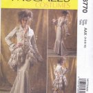 McCall's Sewing Pattern 6770 Misses Sizes 4-10 Costume Jacket Bustle Capelet Skirt Pants