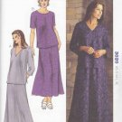 Kwik Sew Sewing Pattern 3020 Misses Size XS-XL (6-22)  Top Sleeve Neck Options Skirt