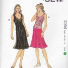 Kwik Sew Sewing Pattern 3054 K3054 Misses Sizes 8-22 Pull-on Skirt Optional Overlay Sleeveless Top