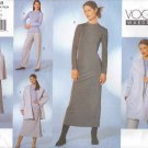Vogue Sewing Pattern 2448 Misses Size 20-22-24 Easy Wardrobe Jacket Cape Dress Pants Skirt Top