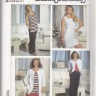 Simplicity Sewing Pattern 9700 Misses Size 4-12 Knit Pants Shorts Dress Top Jacket