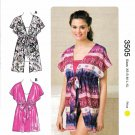 Kwik Sew Sewing Pattern 3505 K3505 Misses Sizes XS-XL (approx. 8-22) Pullover Front Tie Tops