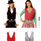 Kwik Sew Sewing Pattern 3626 Misses size XS-XL (approx. 6-22) Lined Button Front Vest