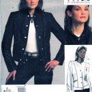 Vogue Sewing Pattern 1036 V1036 Misses'/Women's Plus Size 10-32W Sandra Betzina Long Sleeve Jacket
