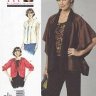 Vogue Sewing Pattern 1243 V1243 Misses'/Women's Plus Size 10-32W Betzina Easy Loose-fitting Jackets