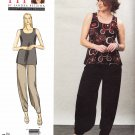 Vogue Sewing Pattern 1355 V1355 Misses'/Women's Plus Size 10-32W Betzina Easy Sleeveless Top Pants