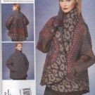 Vogue Sewing Pattern 1277 Misses' 4-14 Koos Van Den Akker Reversible Long Sleeve Jacket