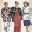 New Look Sewing Patterns 6319 Misses Sizes 8-18 Button Front Jacket Gored Skirt Pants