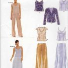 New Look Sewing Patterns 6558 Misses Sizes 8-18 Formal Top Jacket Skirt Pants