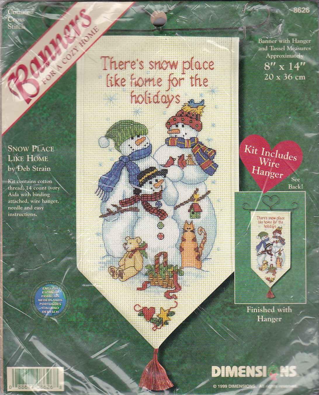 Stamped Cross Stitch Kits Christmas