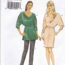 Vogue Sewing Pattern 8961 Misses Size 8-16 Easy Pullover Tunic Dress Tapered Pants