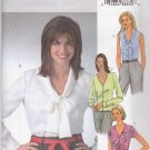 Butterick Sewing Pattern 4285 Misses Size 14-16-18-20 Easy Classic Button Front Tie Blouses