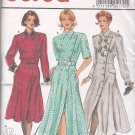 Burda Sewing Pattern 4170 Misses Sizes 8-18 Front Button Dress Hem and Sleeve Options
