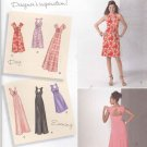 Simplicity Sewing Pattern 1612 Womens Plus Sizes 20W-28W Formal Casual Knit Dress Bodice Options